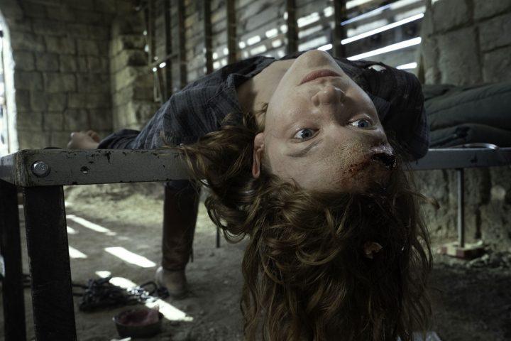 "A morte de Virginia no 9º episódio da 6ª temporada de Fear The Walking Dead (S06E09 - ""Things Left to Do"")."