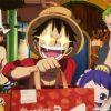 One Piece é destaque na propaganda de um aplicativo de delivery no Japão