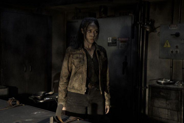 """Alicia no 11º episódio da 6ª temporada de Fear The Walking Dead (S06E11 - """"The Holding"""")."""