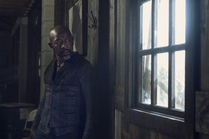 "Morgan Jones no 12º episódio da 6ª temporada de Fear The Walking Dead (S06E12 - ""In Dreams"")."