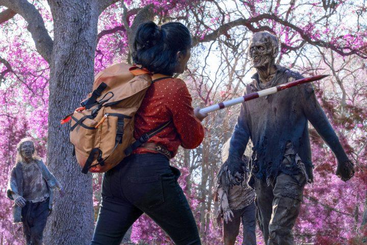 """Athena no 12º episódio da 6ª temporada de Fear The Walking Dead (S06E12 - """"In Dreams"""")."""