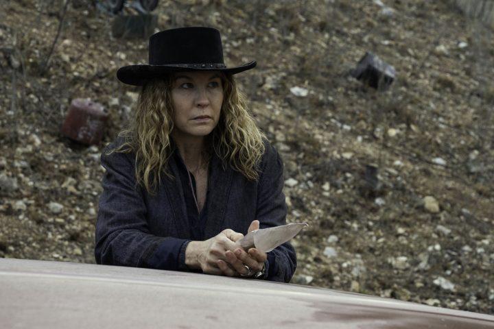"June no 13º episódio da 6ª temporada de Fear The Walking Dead (S06E13 - ""J.D."")."