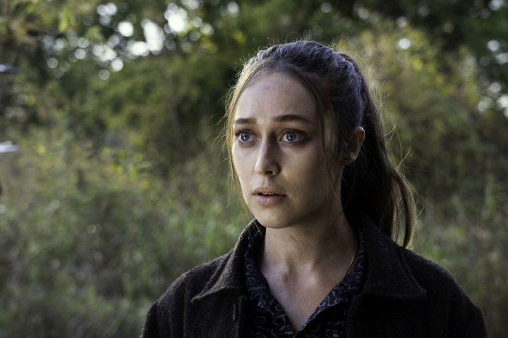 """Alicia no 14º episódio da 6ª temporada de Fear The Walking Dead (S06E14 - """"Mother"""")."""