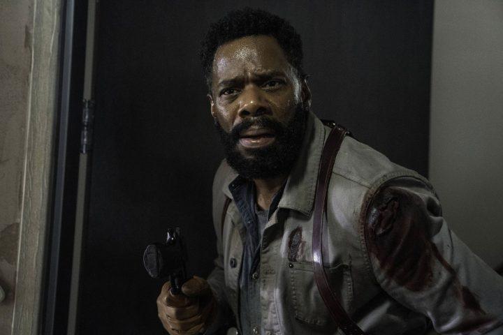 "Victor Strand no 16º episódio da 6ª temporada de Fear The Walking Dead (S06E16 - ""The Beginning"")."