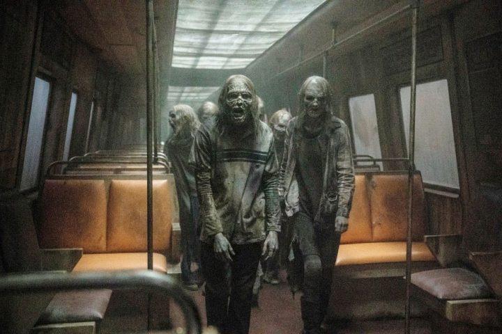 Zumbis em foto promocional da 11ª temporada de The Walking Dead.