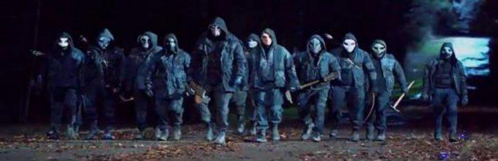 O misterioso grupo dos Ceifeiros, uma das ameaças da 11ª temporada de The Walking Dead.