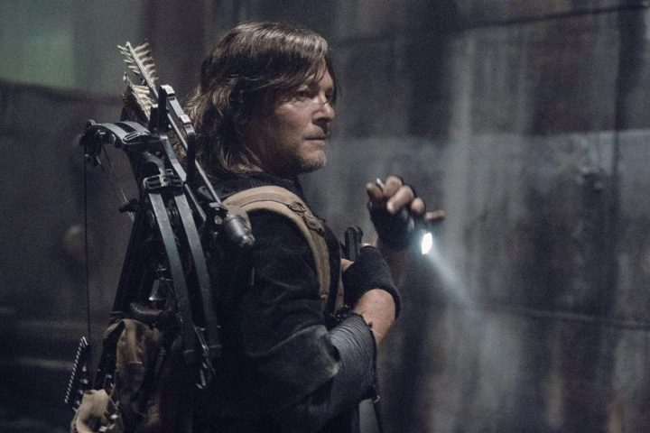 Daryl Dixon na 11ª Temporada de The Walking Dead.