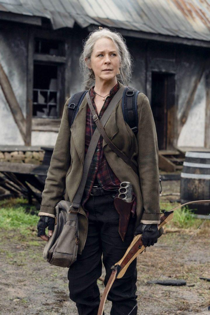 Carol na 11ª Temporada de The Walking Dead.