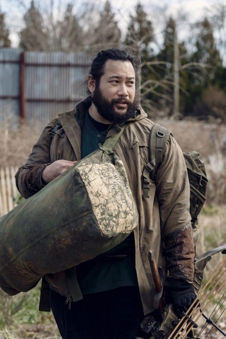 Jerry na 11ª Temporada de The Walking Dead.