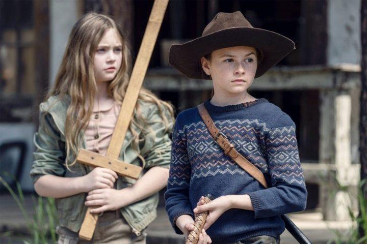 Judith na 11ª Temporada de The Walking Dead.