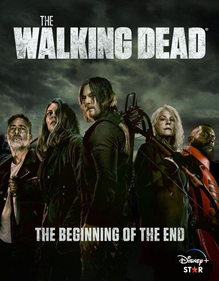The Walking Dead | Negan, Maggie, Daryl, Carol e Mercer em pôster da 11ª temporada.