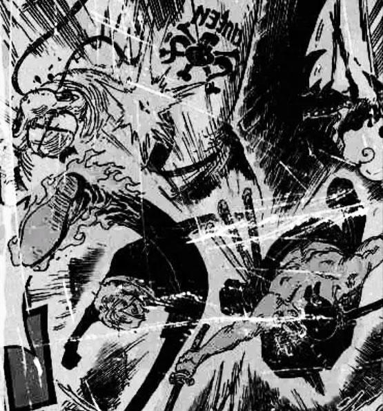 One Piece   Zoro e Sanji atacam King e Queen no mangá 1022.