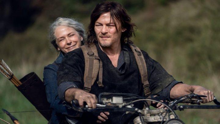 Daryl e Carol em The Walking Dead.