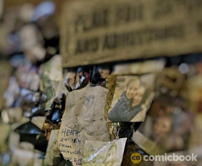 The Walking Dead 11ª Temporada | Heath e o Mural dos Desaparecidos em Commonwealth. Existe uma conexão?