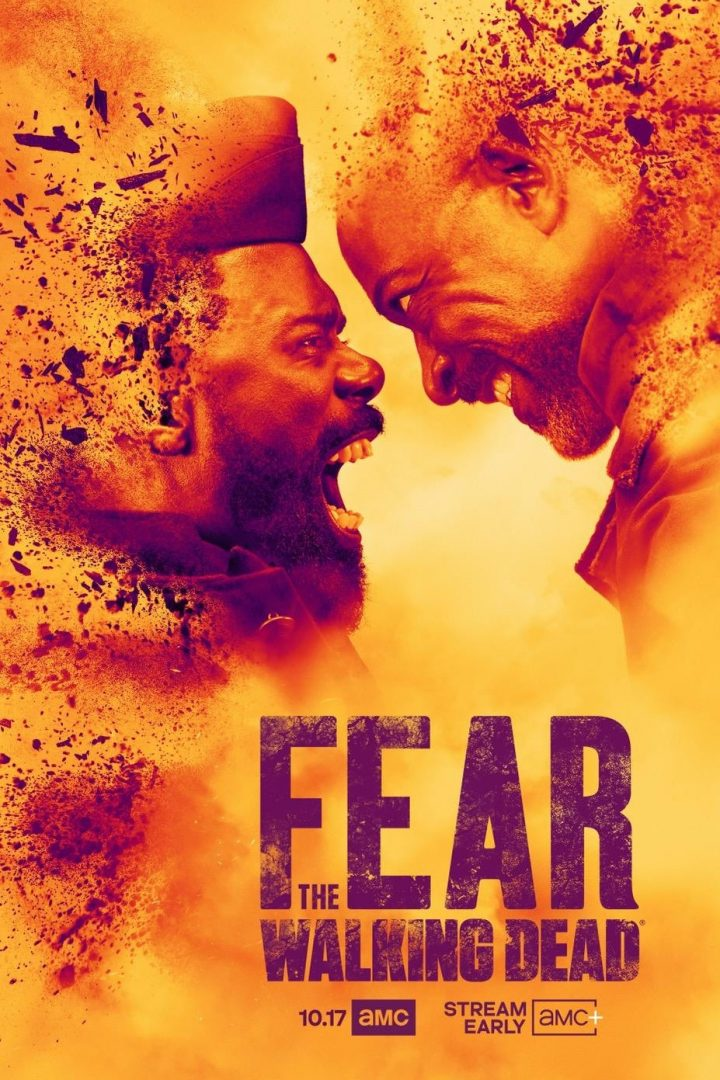 Morgan Jones e Victor Strand se encaram em pôster da 7ª temporada de Fear The Walking Dead.