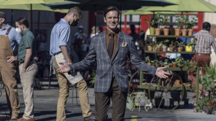 """Lance Hornsby (Josh Hamilton) no 5º episódio da 11ª temporada de The Walking Dead (S11E05 - """"Out of the Ashes"""")."""