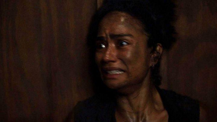 """Connie no 6º episódio da 11ª temporada de The Walking Dead (S11E06 - """"On the Inside"""")."""