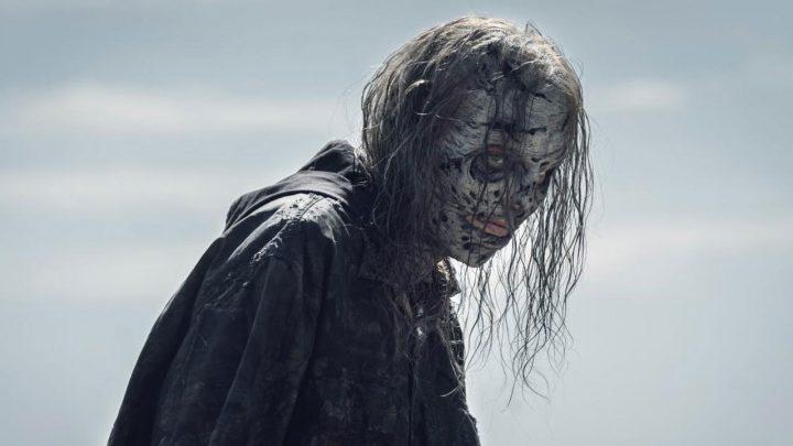 """Maggie no 7º episódio da 11ª temporada de The Walking Dead (S11E07 - """"Promises Broken"""")."""